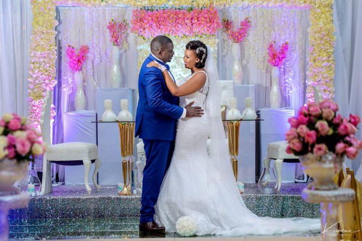 Maurice weds Cynthia