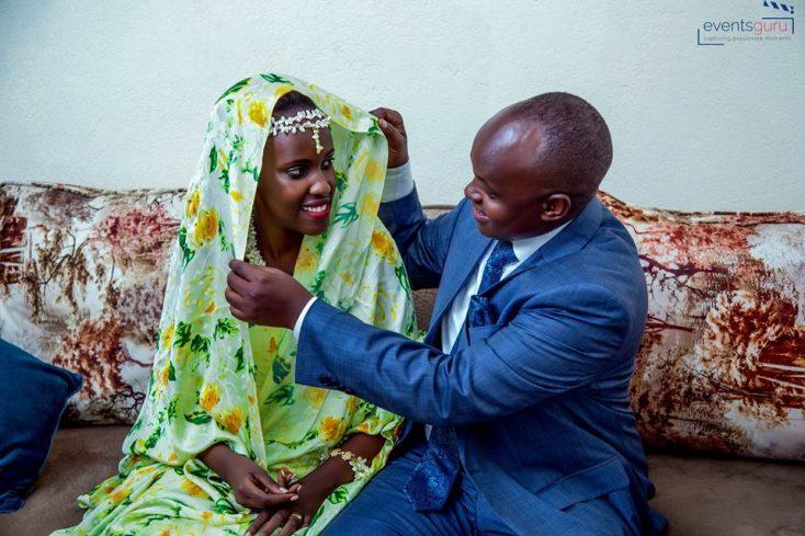 Diana and Alex Nuwamanya's kuhingira