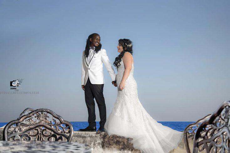 Dave Dash weds Pamela