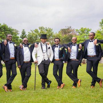 Kenyan Groomsmen with swag - Mikolo