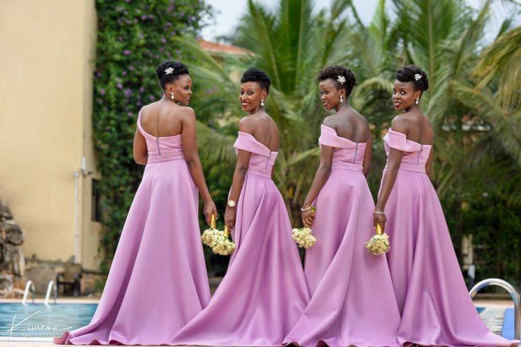 Doreen's bridesmaids - Mikolo