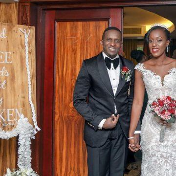 Edwin weds Christabel via mikolo.com