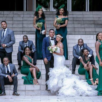 Kevin weds Kimberley via mikolo