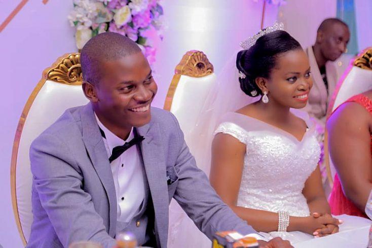 Yusuf weds Moreen via mikolo.com
