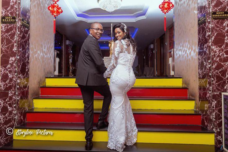 Franklin weds Brenda via mikolo.com