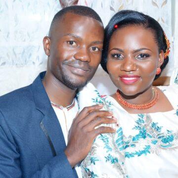 Grace Nambwayo and Omulangira Edward Tebandeke