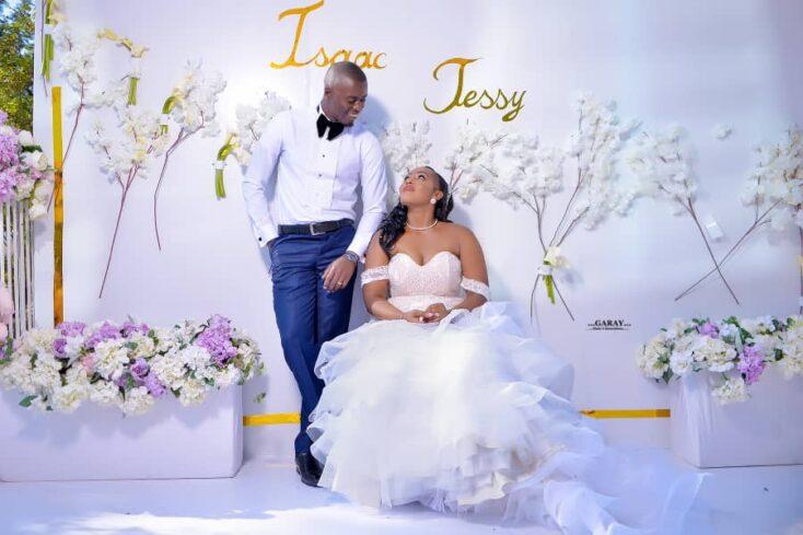 Isaac weds Jessy