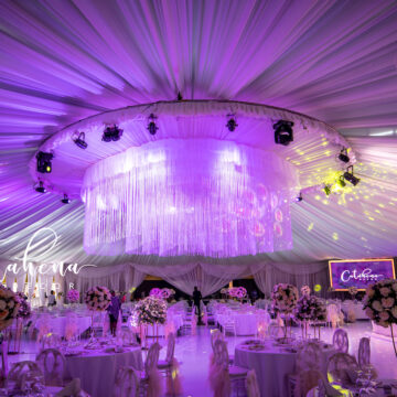 Roger Ole weds Penilope - wedding decor via mikolo