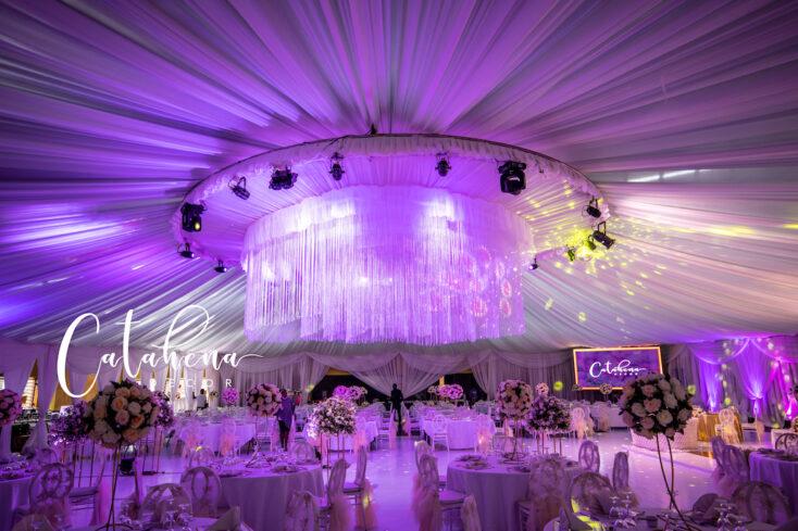 Roger Ole weds Penilope - wedding decor via mikolo