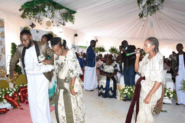 Kyra introduces Kabaka Johnz via mikolo