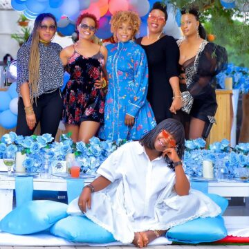 Ann Kansiime's baby shower via mikolo