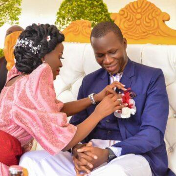 Moryne Nyakato and Nelson Kanyali via mikolo