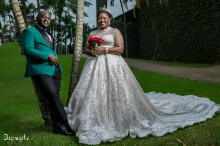 Muhumuza Martin Beta weds Linder Pink via mikolo
