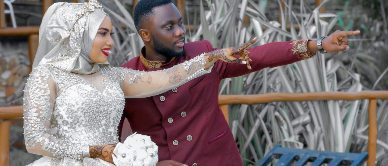 Babudin weds Rahma via mikolo