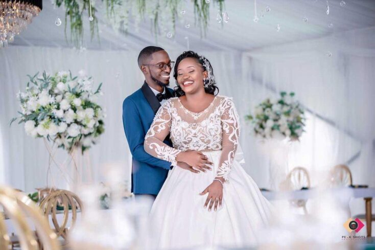Edwin weds Desire via mikolo