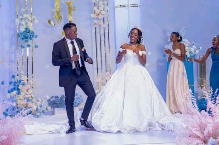 Josh Senyonga weds Joanne via mikolo.com