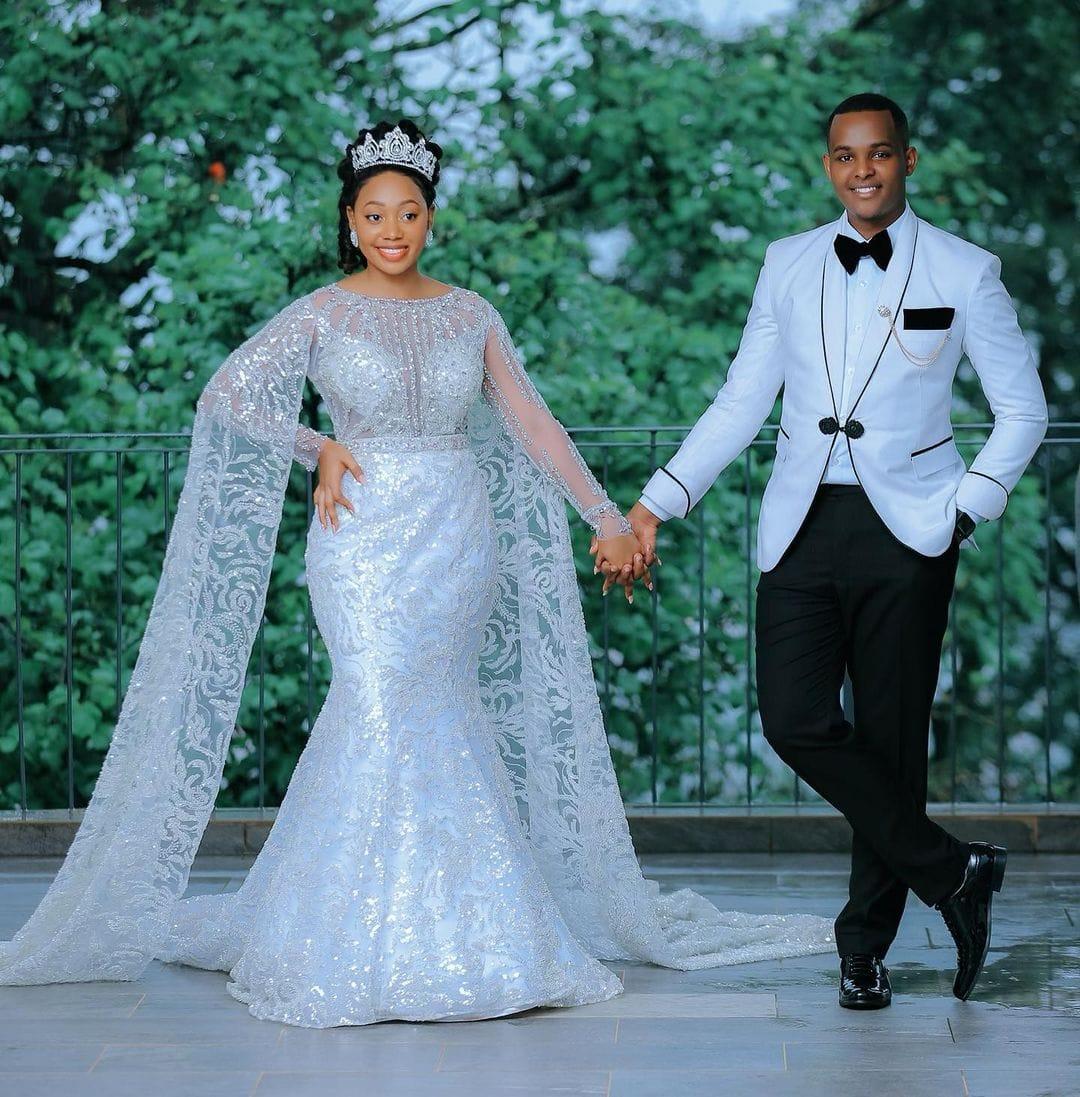 Canary Mugume weds Fiona via mikolo