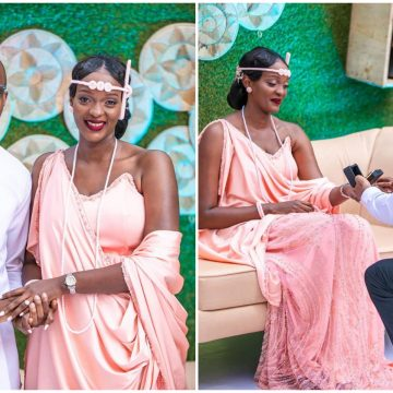 Rita Kanya introduces Raymond Mujuni